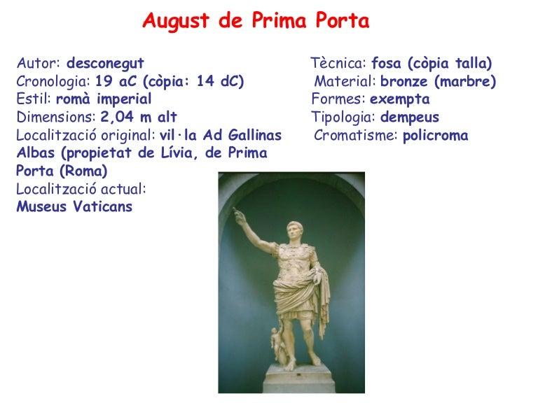 August De Prima Porta