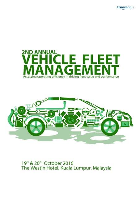 KL-MF08 2nd Annual Vehicle Fleet Management Producer