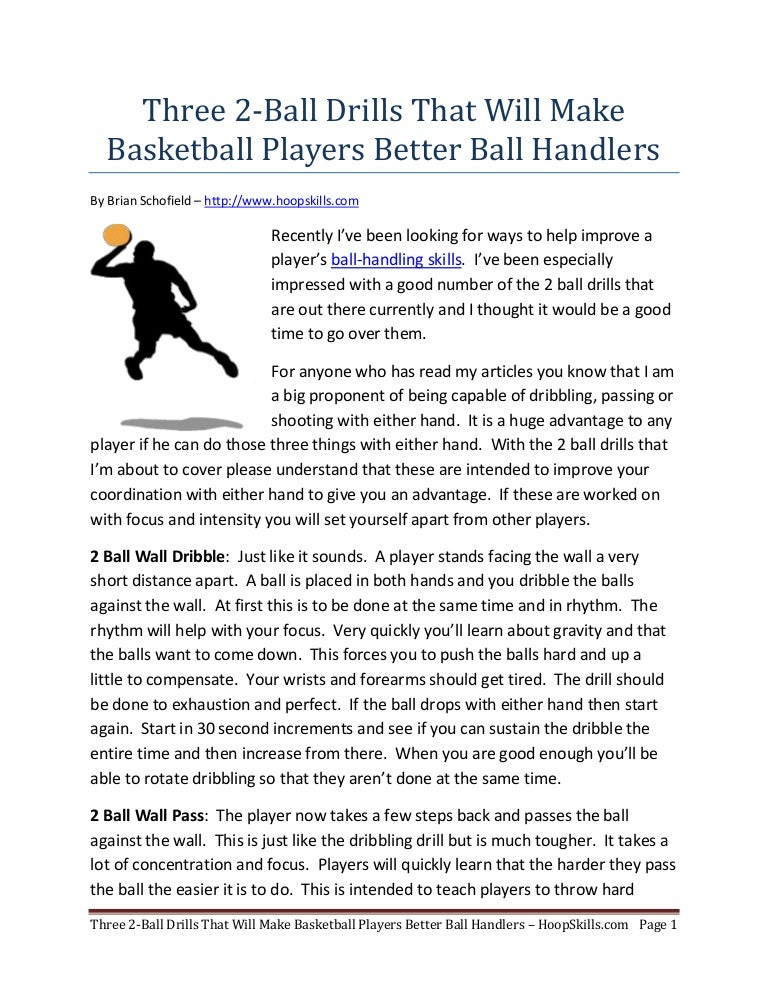 Ball-Handling Drills to Improve Your Results in Half the ...  |Better Ball Handling Drills