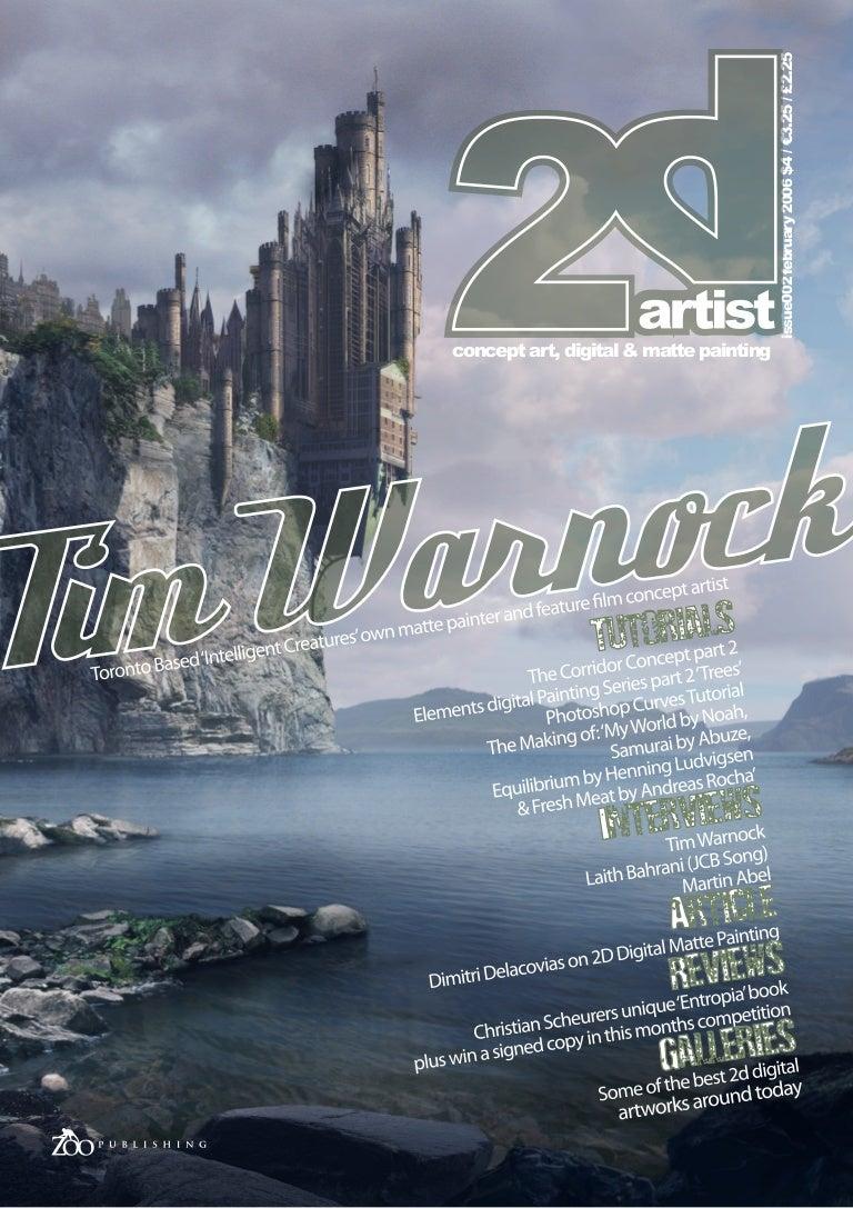 2d artist magazine 002 baditri Choice Image