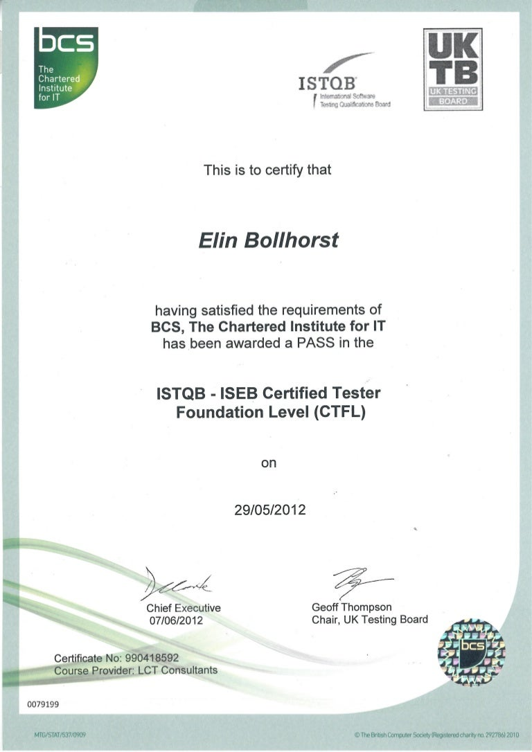 Istqb certified tester foundation lev xflitez Images