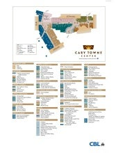 Cary Towne Center Map Cary Towne Center directory map