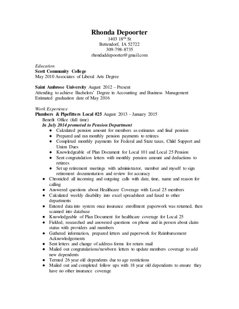 rhonda resume doc