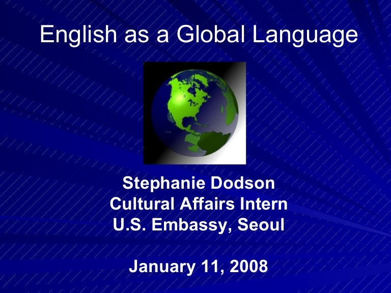 english as a global language englishasagloballanguagephpappthumbnailjpgcb