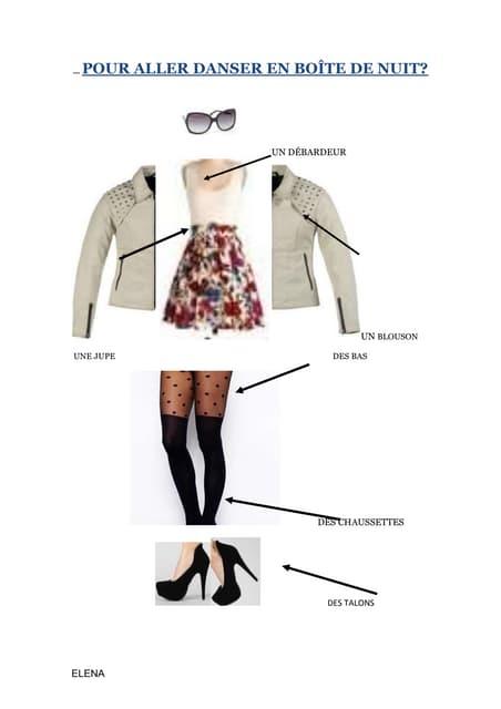 Les vêtements Elena