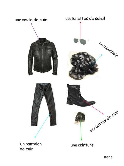 Les vêtements Irene