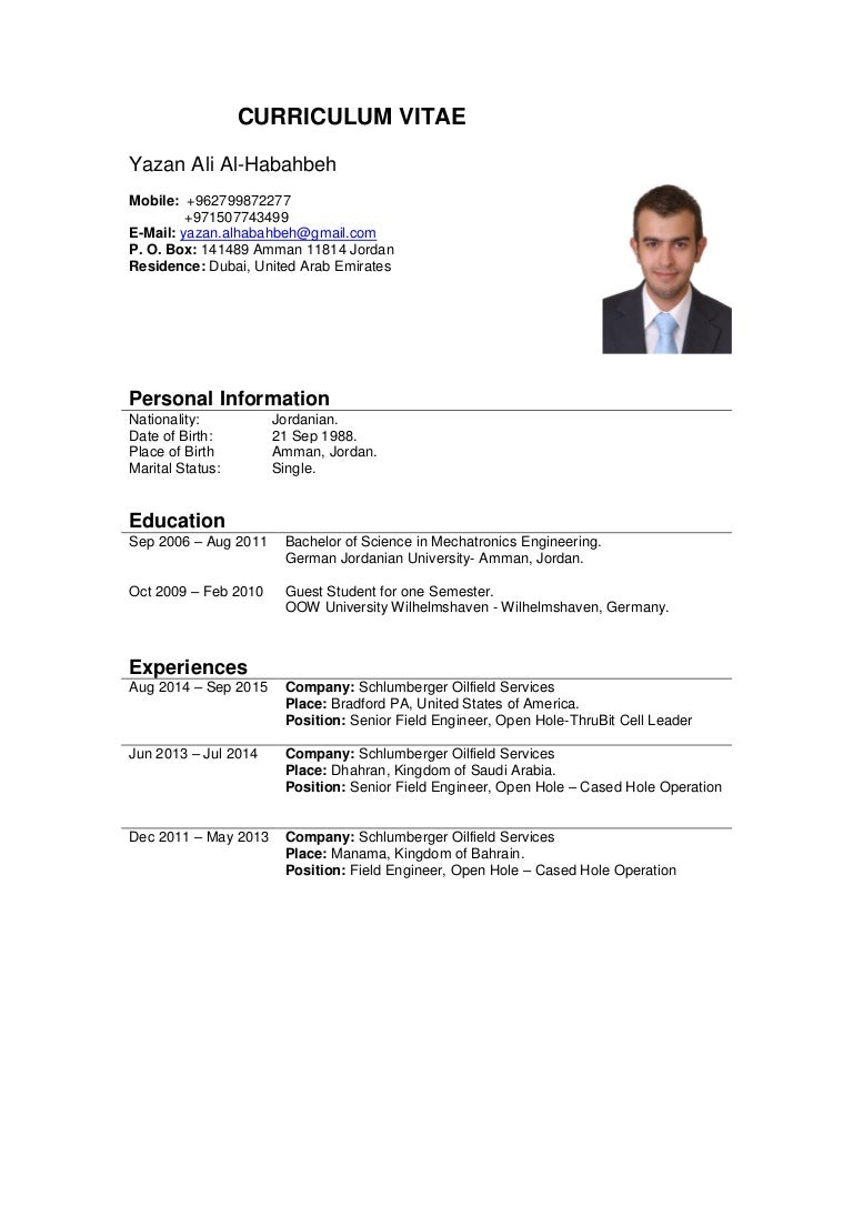 sample resume for engineering student schluberger field engineer sample resume editorial assistant yazan habahbeh fefa thumbnail yazanalhabahbeh - Halliburton Field Engineer Sample Resume