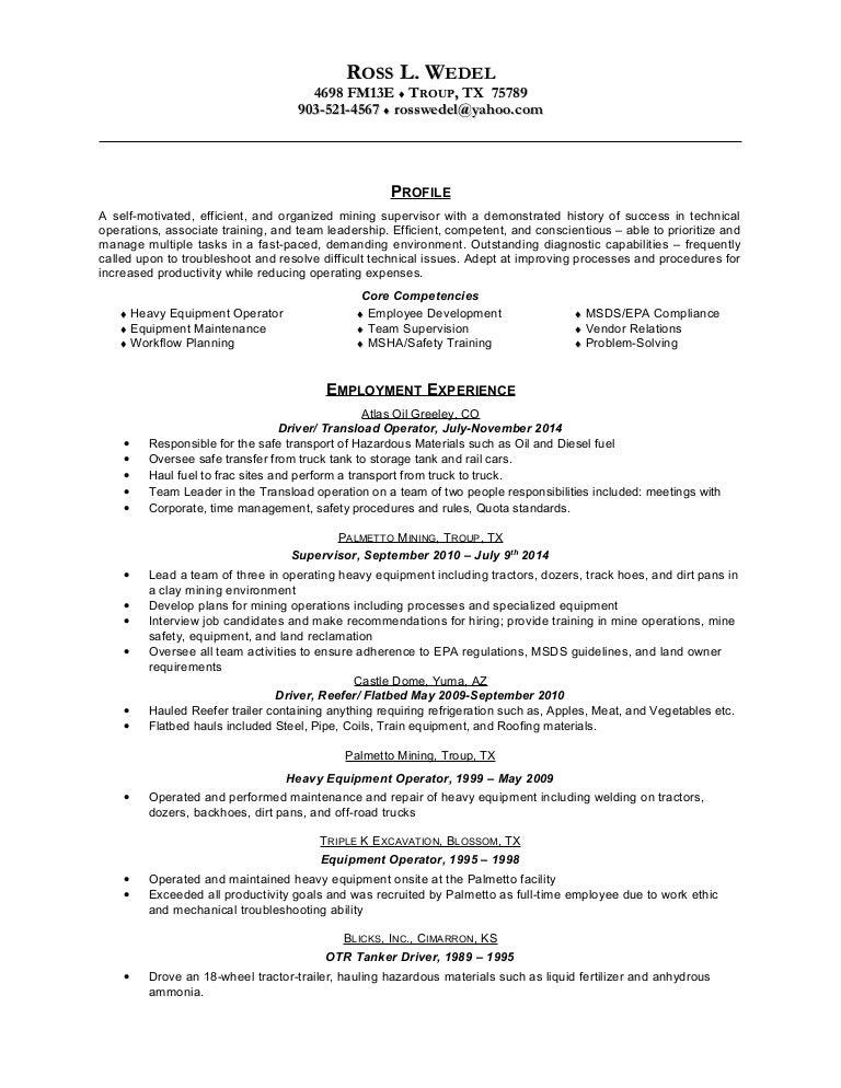 Call Center Skills Resume Doc Bestfa Tk  Resume For Heavy Equipment Operator