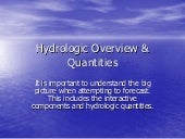 2 hydrology overview_quantities