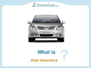 Auto Insurance Explained Power Point