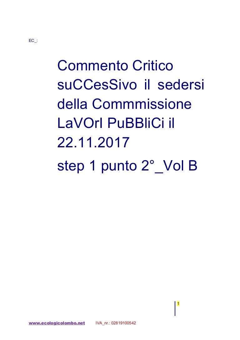EC Mio Mento Critico Su C Cessivo Riunione C L Pubblicistep1pu…