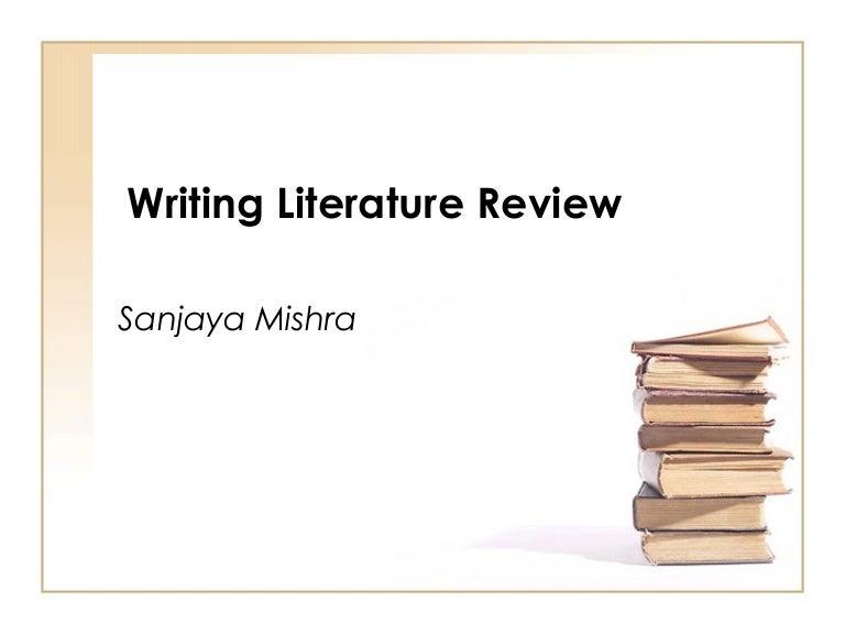 literature review essays