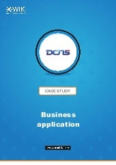 How DCNS creates its own business applications