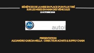 Présentation ARAMIS AUTO, Lean Tour Blois 2018