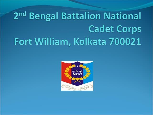 2nd Bengal Battalion National Cadet Corps, Kolkata, India