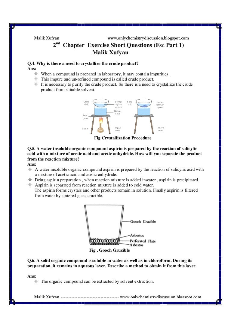How to Crystallize Organic Compounds How to Crystallize Organic Compounds new foto