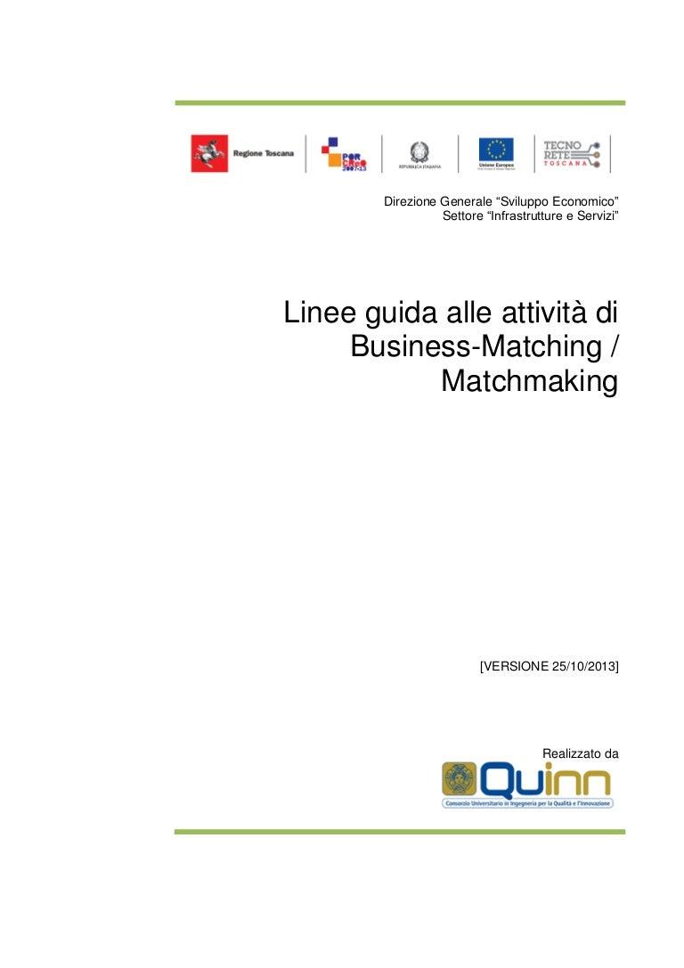 business plan di matchmaking