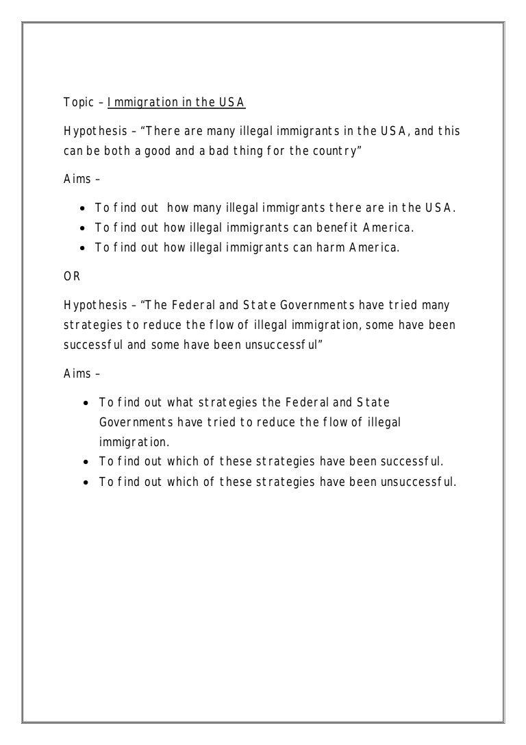 illegal immigration topics