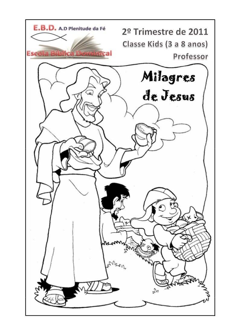 2 trim milagres de jesus professor