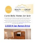 Realty One Group Home For Sale Corte Bella,Gilbert & Glendale