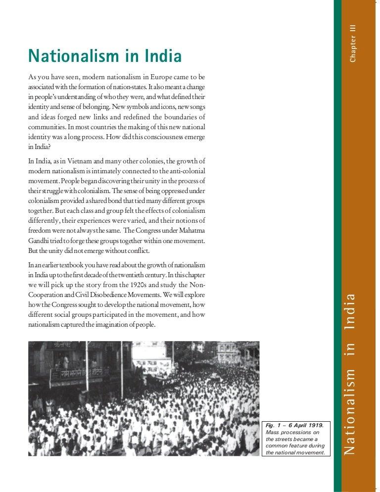 3 Nationalism In India