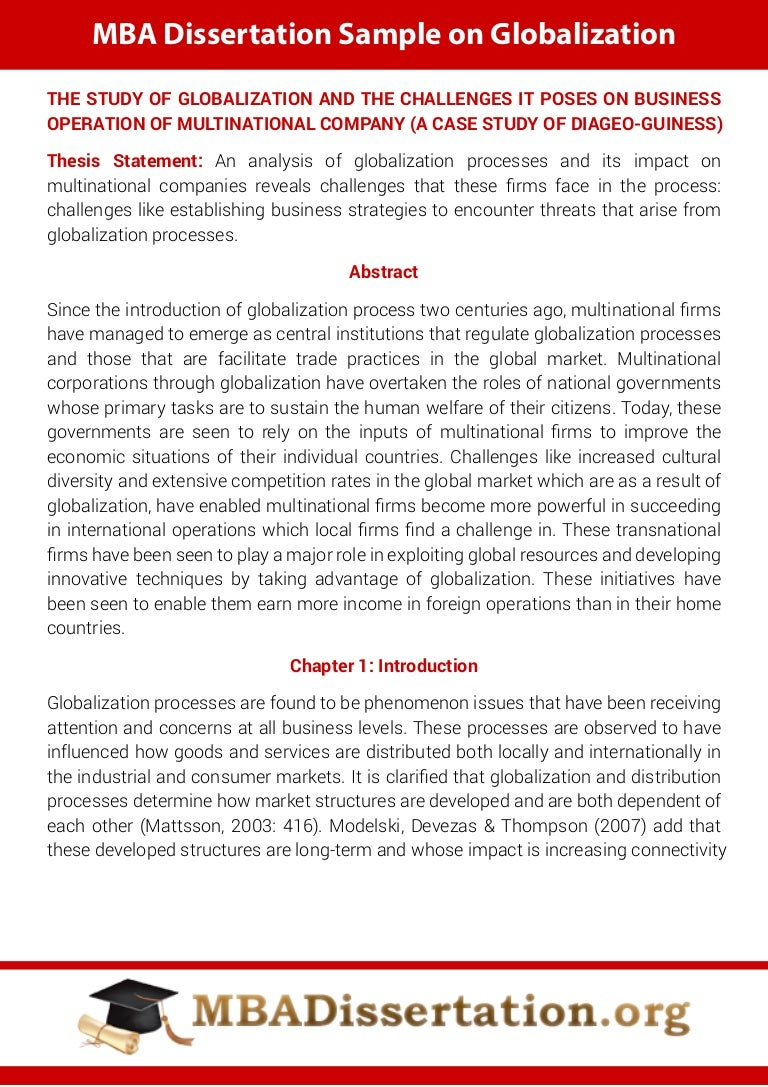 thesis papers on globalization It has gradually evolved from the 1970s after the advent of different forms of high speed transportation and communication to the age of information technologies around the millennium, to make a single unified community where all the major sources of various social conflicts have disappeared (scheuerman, 2010 and world regional geography, 2009.
