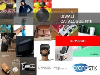 Diwali Corporate Gifts by BrandSTIK - Rs 250-500
