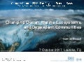 Changing Ocean, Marine Ecosystems, and Dependent Communities