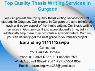 3.top quality thesis writing services in gurgaon