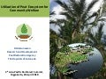 Utilization of peat ecosystem for community welfare