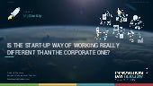 Is the start-up way of working really different than the corporate one (by Frederik Wouters)