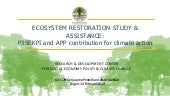 Ecosystem restoration study & assistance: P3SEKPI and APP contribution for climate action