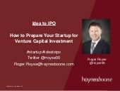 How to Prepare Your Startup for Venture Capital Investment