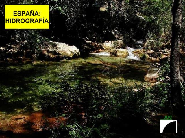 ESPAÑA: HIDROGRAFIA