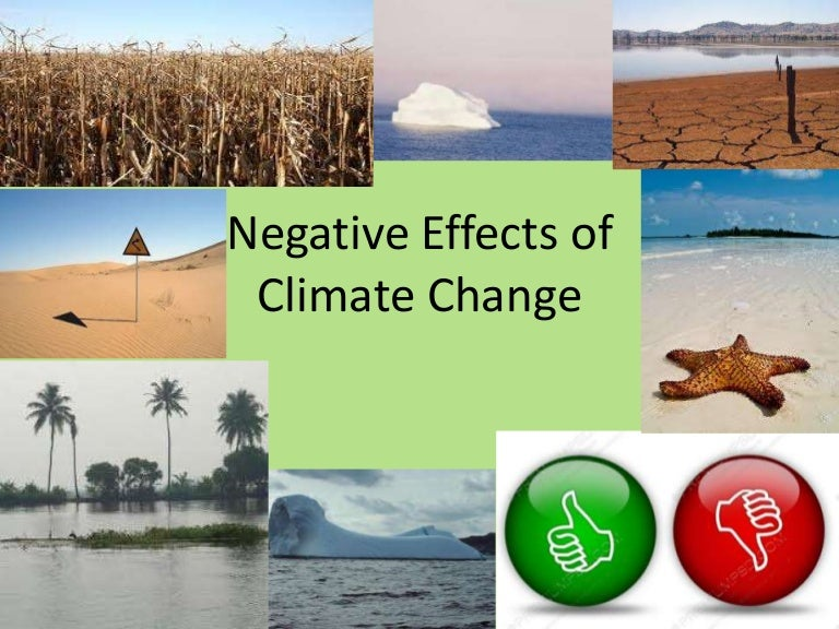 the effects of climate change Climate change poses a variety of health risks widespread impacts may occur as a result of warmer temperatures increasing pollen production in plants and ground-level ozone formation, which exacerbates asthma, allergies, and other respiratory conditions.