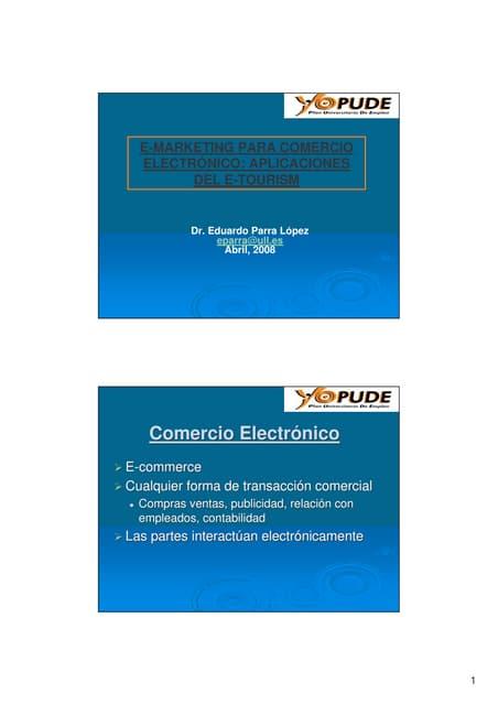 Curso E-marketing pude 2008