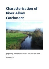 30. Characterisation of River Allow Catchment