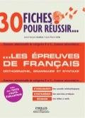 30 fiches-pour-résussir-les-épreuves-de-français-orthographe-grammaire-et-syntaxe-www.lfaculte.com