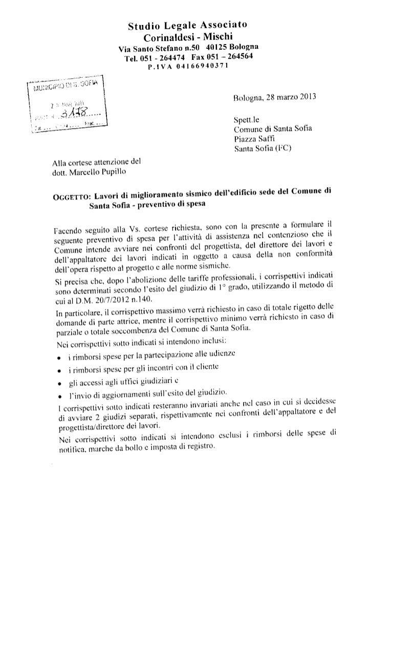 Lettera Studio Legale