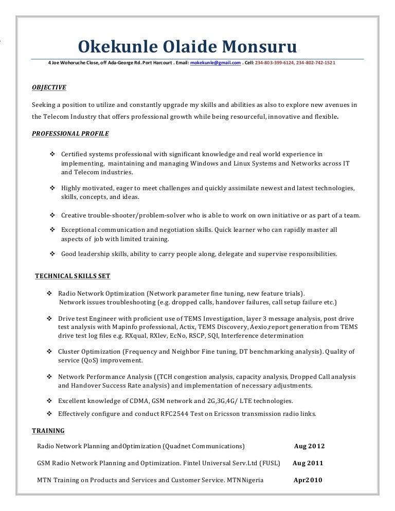resume optimization