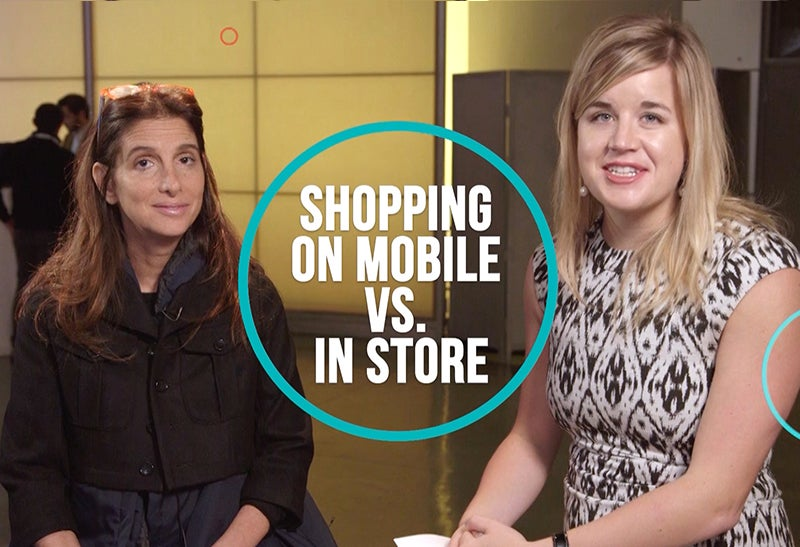 Shopping On Mobile vs. In Store