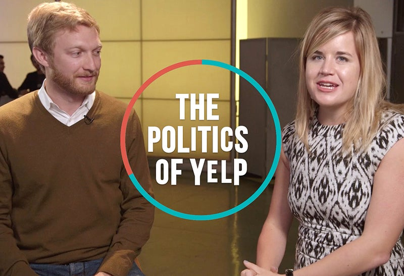 The Politics of Yelp