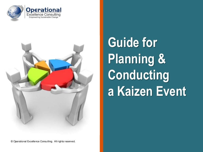 Kaizen Event Guide