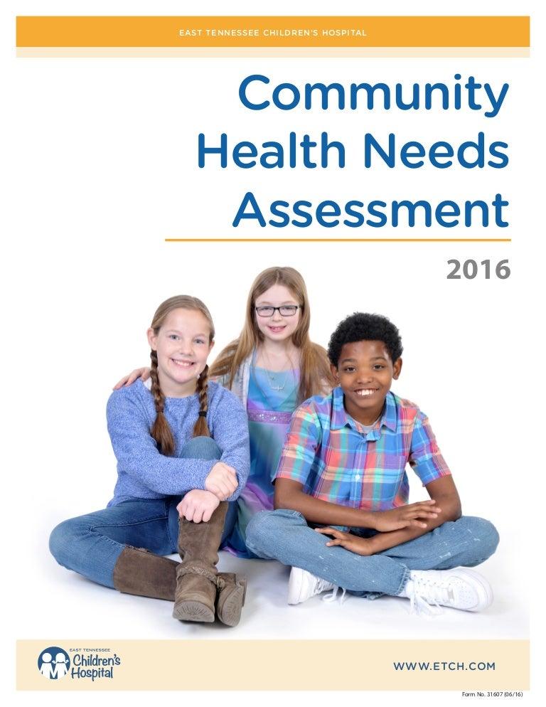 community health needs assessment