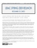 USMC REPORT 2009 [Feature]