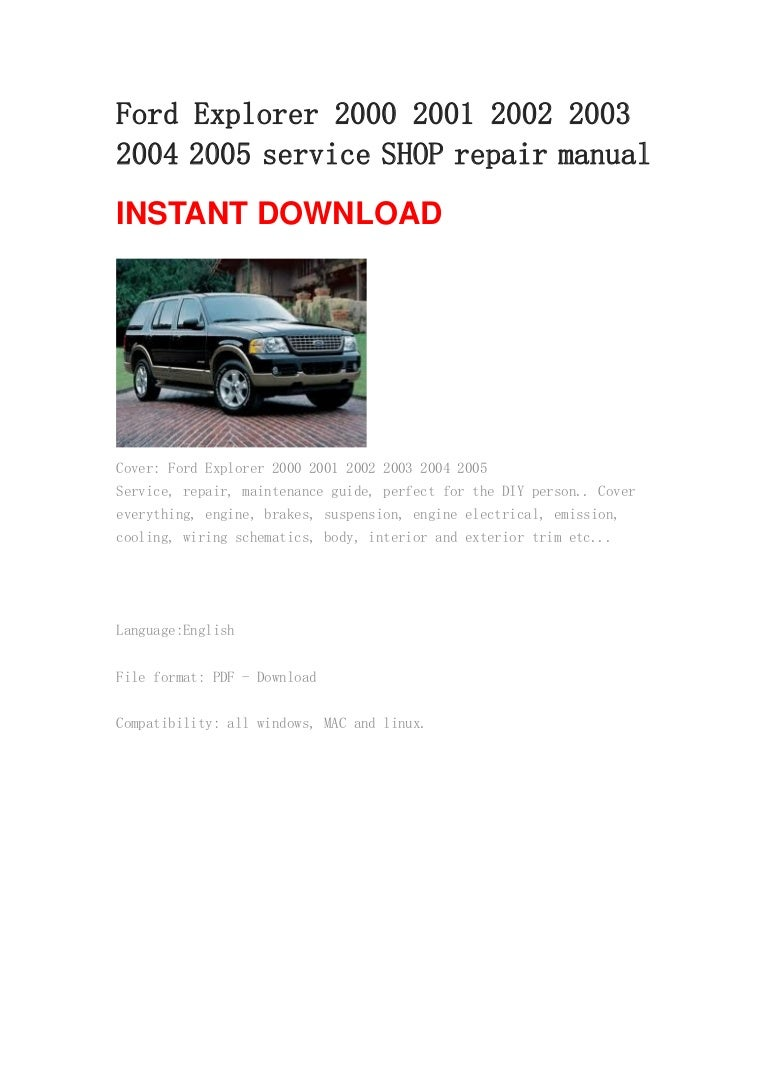 2000 Ford Explorer Repair Manual Windstar Fuse Box Diagram Free Download Wiring Speco Technologies Dvr