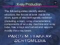 radiology x-ray production