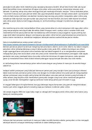Situs Poker Online Jersey Hangat
