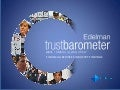 2013 Edelman Trust Barometer: Global Financial Services Industry