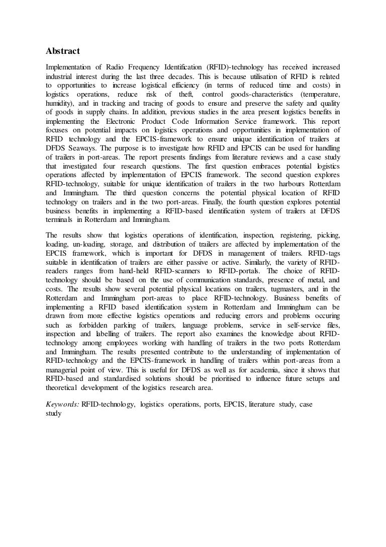 Abstract of a dissertation proposal